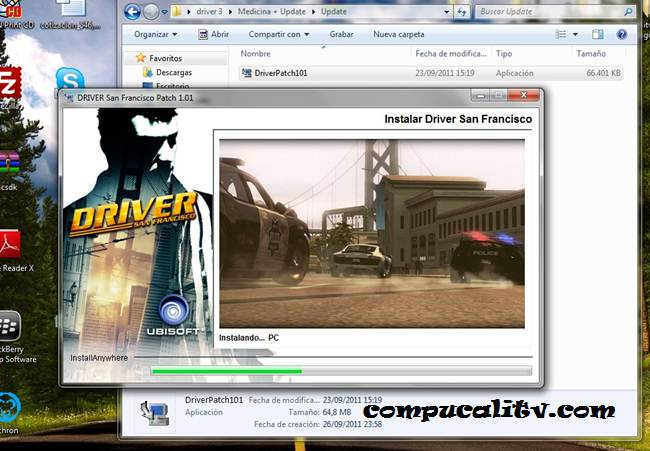 Instalacion Driver San Francisco PC