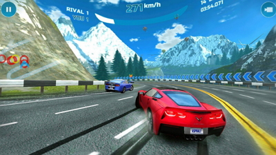 Download Game Asphalt Nitro APK MOD  Unlimited Money