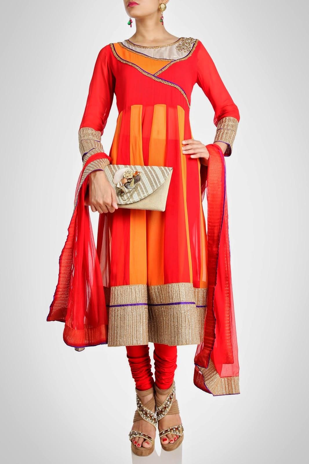 Latest Shalwar Kameez Designs With Chooridar Collection L