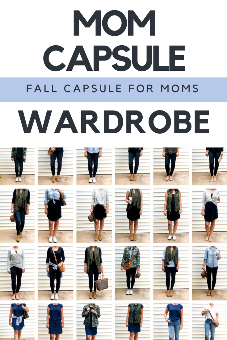 How To Make a Mom Capsule Wardrobe