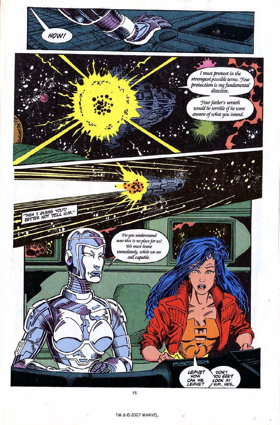 Read online Silver Surfer (1987) comic -  Issue #65 - 17