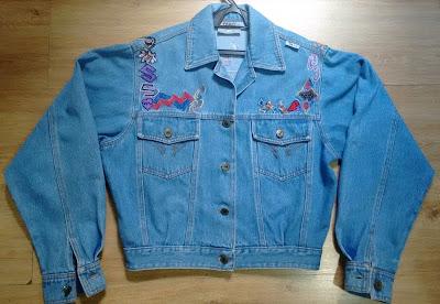 jaqueta jeans Fera M