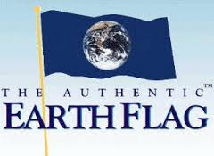 Happy Earth Day 2016 Flags Poster