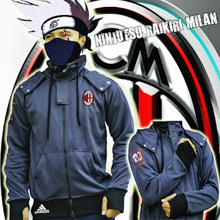 Jaket Polyester AC Milan