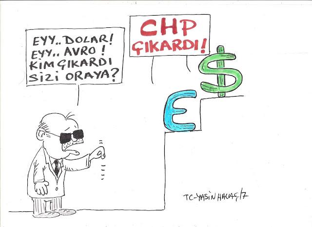 chp çıkardı karikatürü.