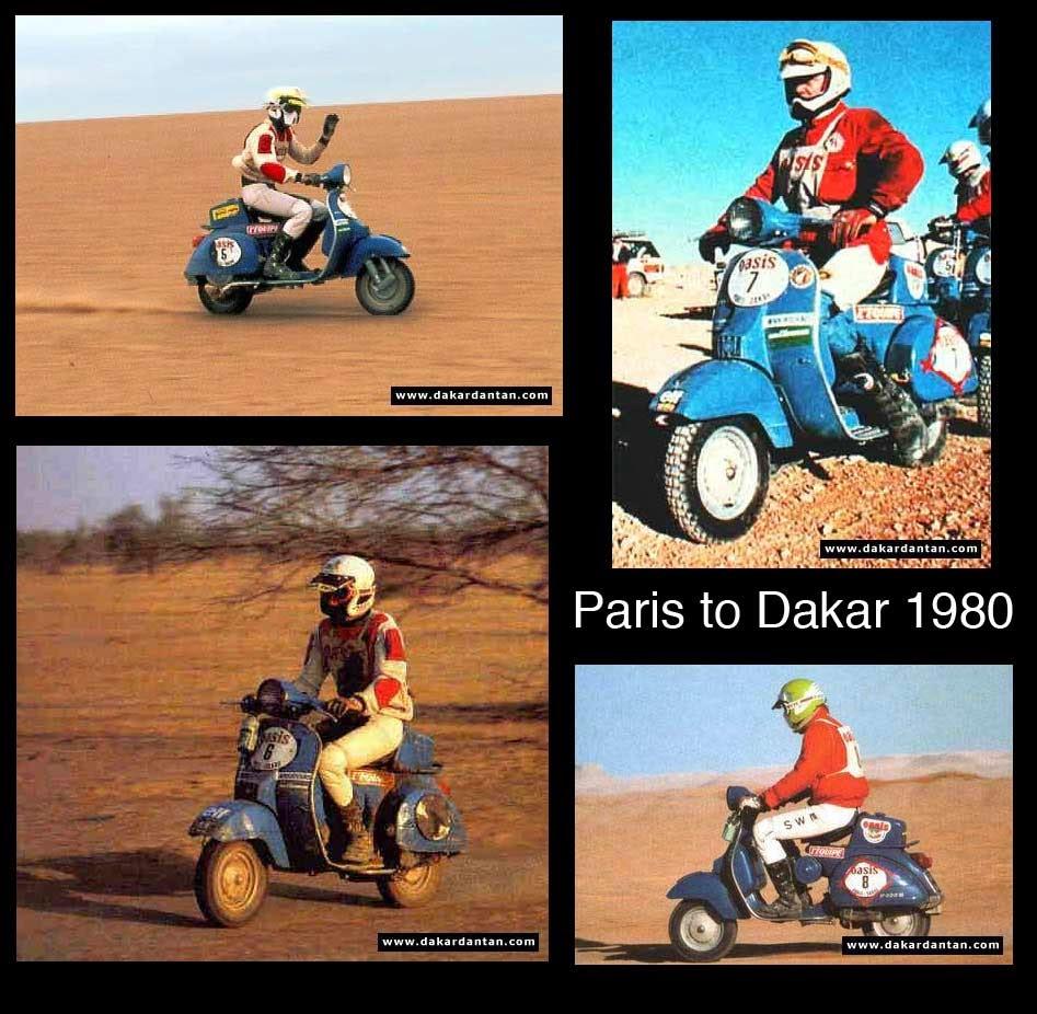 paris to dakar 1980 - PARIS-DAKAR - OS CAMPEÕES DOS ANOS 80
