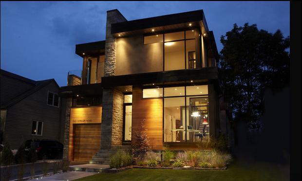 Fachadas casas modernas julio 2013 for Modelos de fachadas de casas de dos pisos