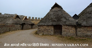 mera-adarsh-gaon-hindi-nibandh