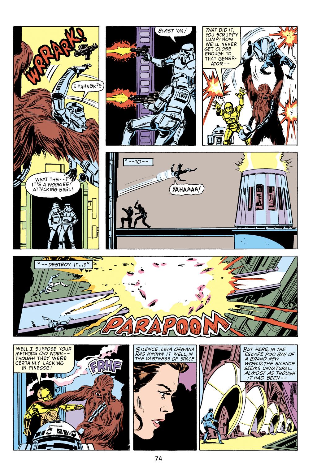 Read online Star Wars Omnibus comic -  Issue # Vol. 16 - 74