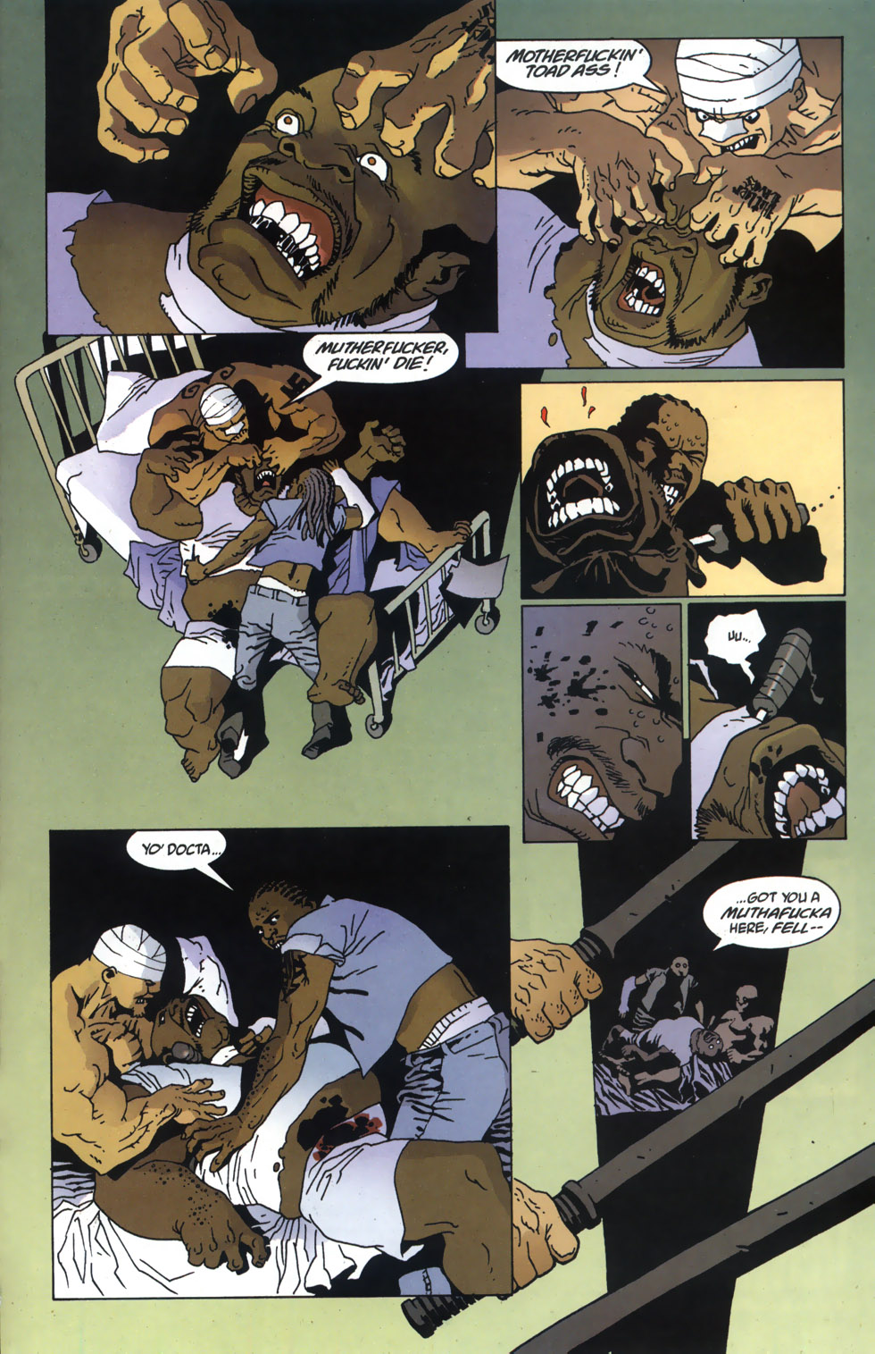 Read online 100 Bullets comic -  Issue #46 - 18