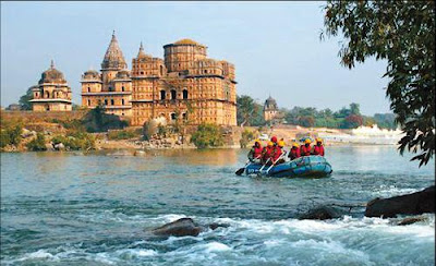 Orchha Fort in Madhya Prodesh