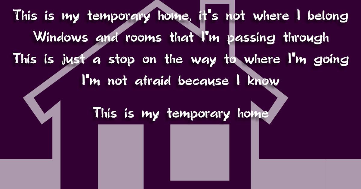 Lyric i m not afraid eminem lyrics : Song Lyric Quotes In Text Image: Temporary Home - Carrie Underwood ...