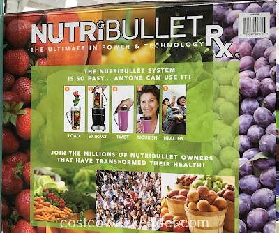 A better diet is a better life with the NutriBullet Rx 12-piece set
