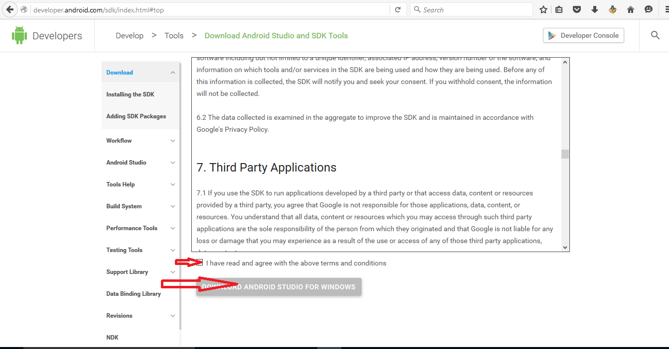 How to Download and Install Android Studio and SDK on