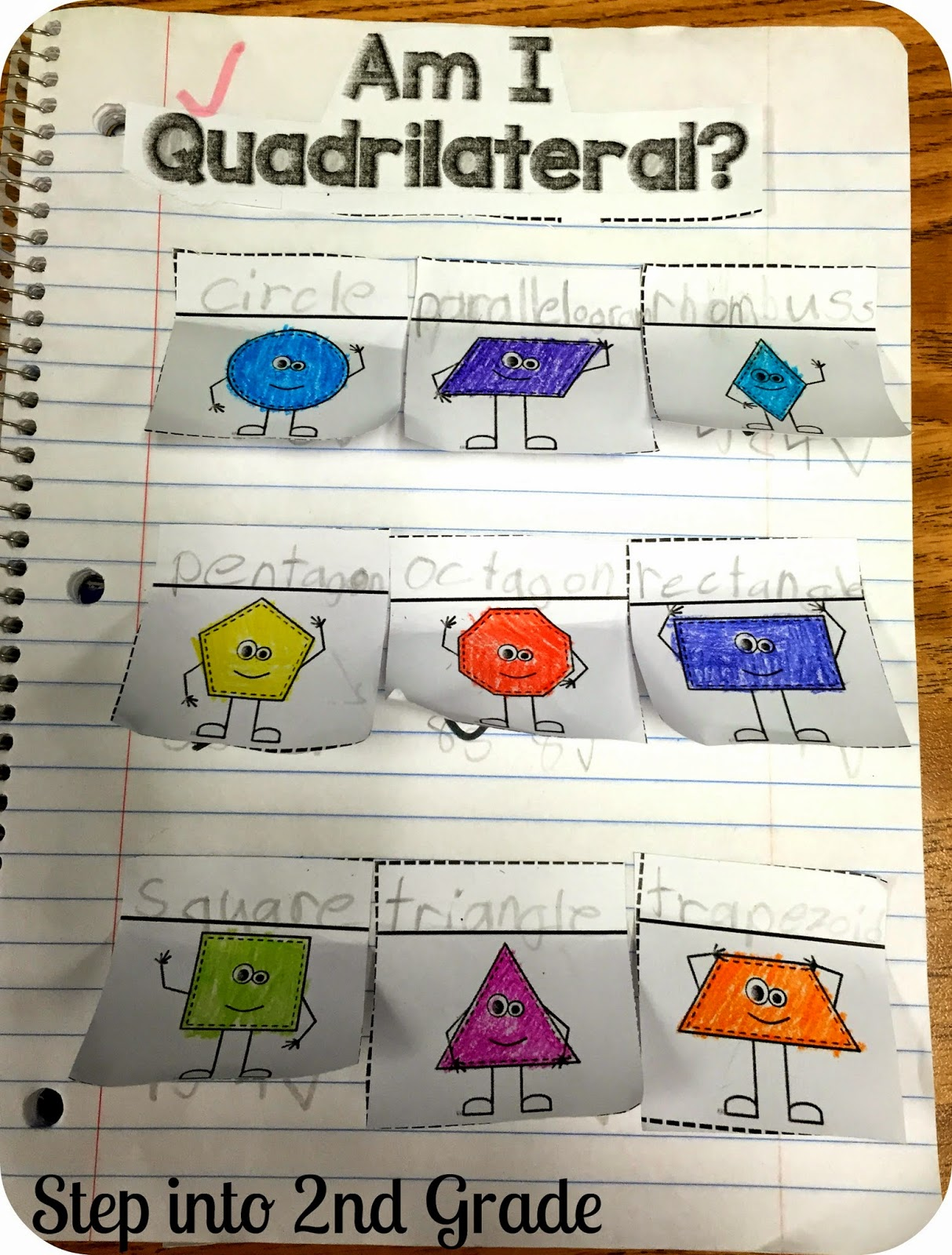 hight resolution of 2nd Grade Worksheet On Quadrilaterals   Printable Worksheets and Activities  for Teachers