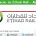 Job Vacancies in Etihad Rail - Abu Dhabi