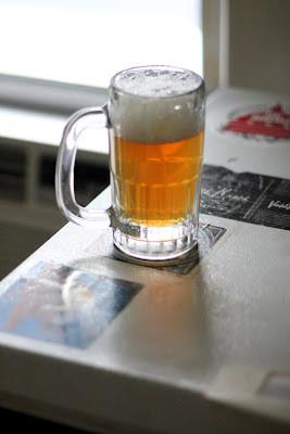 Alchemist's Conan yeast fermented West Coast pale ale.