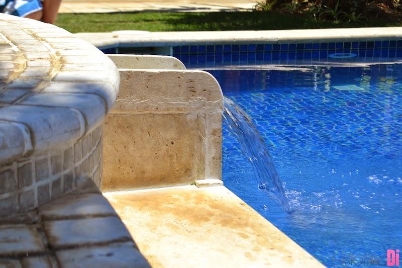 Lindo detalhe na piscina infantil