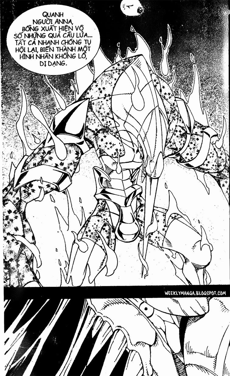Shaman King [Vua pháp thuật] chap 167 trang 21