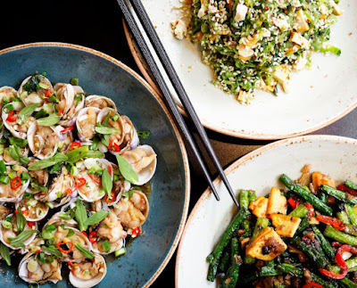 Source: Black Sheep Restaurants. Stirfried dishes at the Ho Lee Fook.