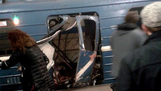 Bombas artesanales con tritol estallaron en tres estaciones. Hay unos 50 heridos, incluso niños.