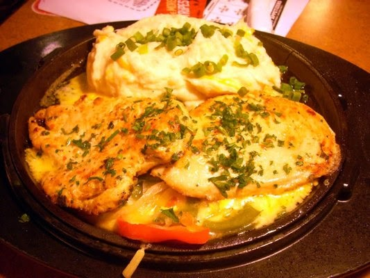 T G I Friday S Sizzling Chicken And Cheese Fabulous Famous Recipes