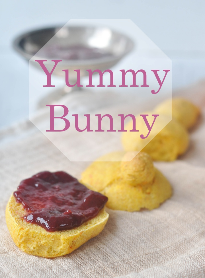 gluten free Easter-Carott-Bunnies, perfect for your Easter brunch
