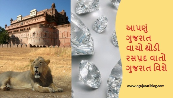 About of Gujarat in Gujarati