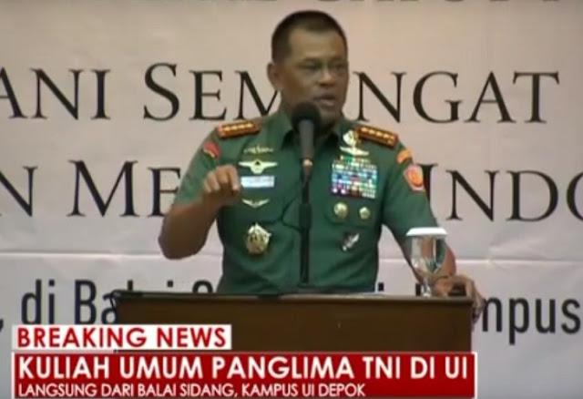 Di Hadapan Dosen Dan Mahasiswa, Ucapan Panglima TNI Ini Tentang Status Ahok Membuat Umat Muslim Bangga
