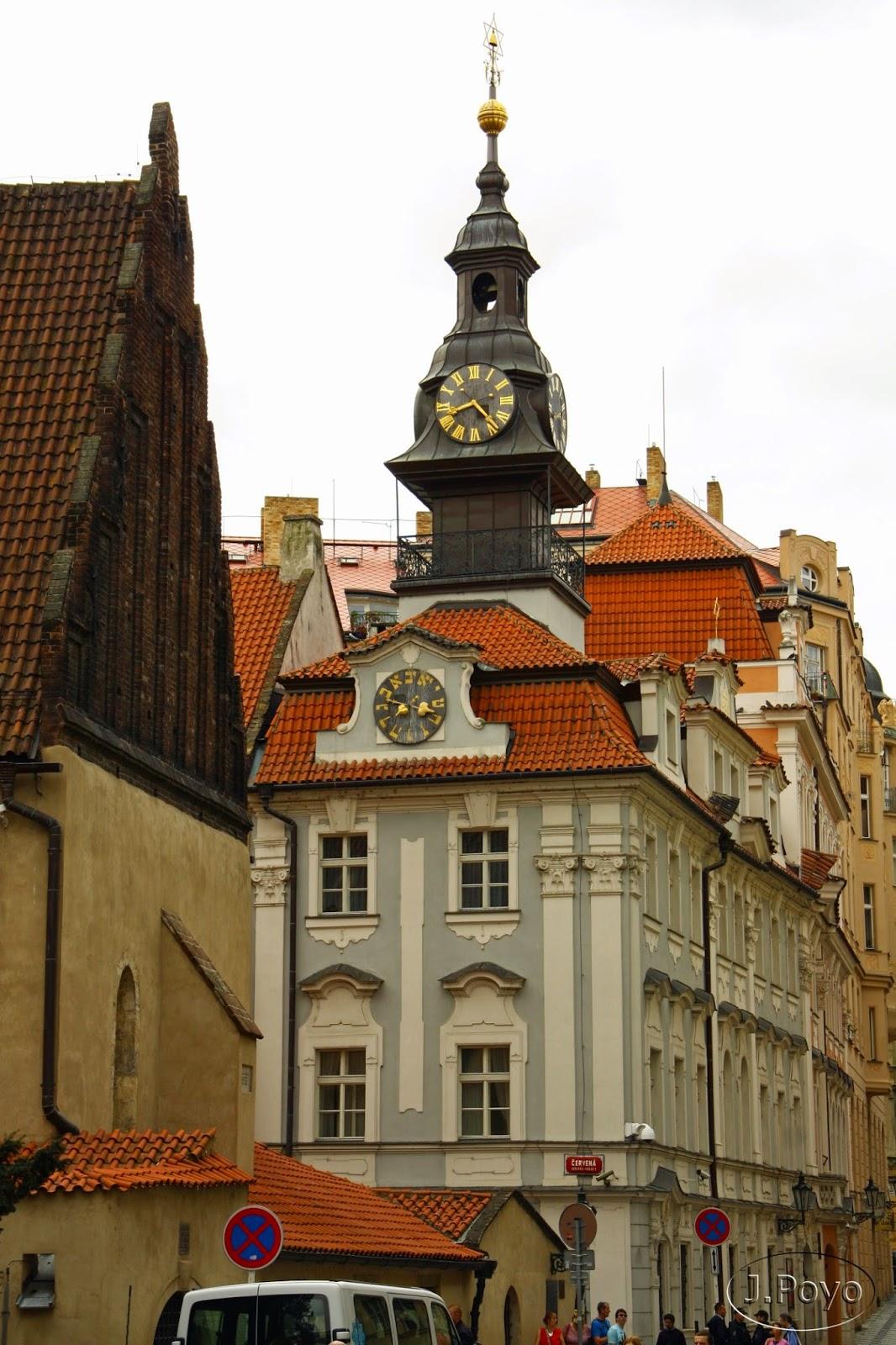 Ayuntamiento de la ciudad judía y Sinagoga alta