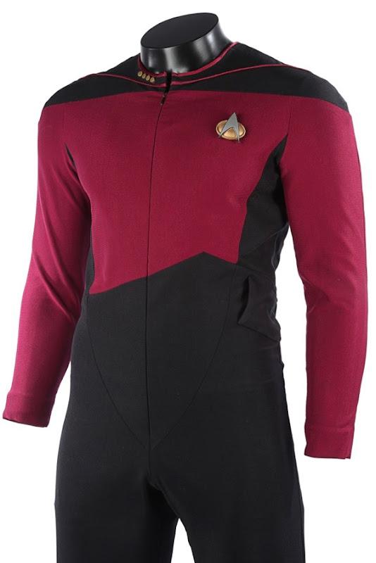 Patrick Stewart Captain Picard Starfleet uniform
