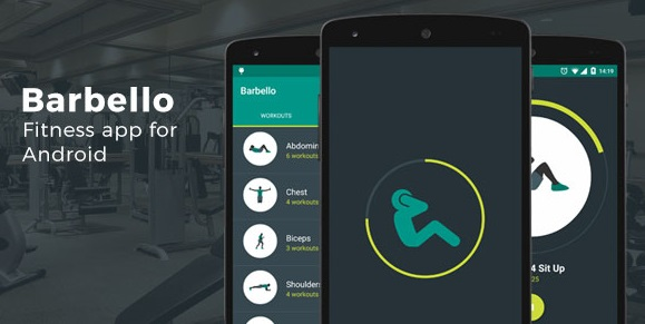 Barbello Fitness App for Android - nulled scripts
