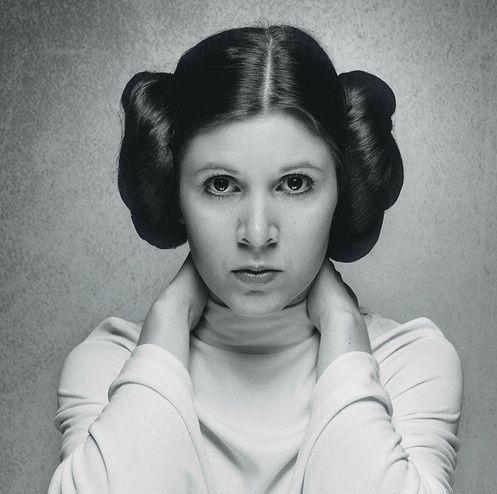 Carrie Fisher como la Princesa Leia, en la película Star Wars | Ximinia