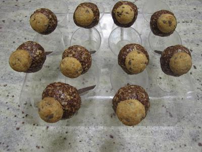 Sucettes gourmandes à l'Ovomaltine crunchy et aux flocons d'avoine (Battle Food #64)