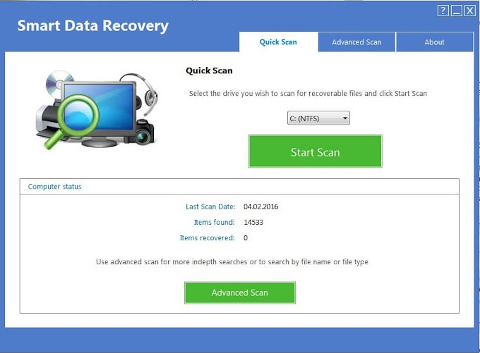 Smart data recovery key serial