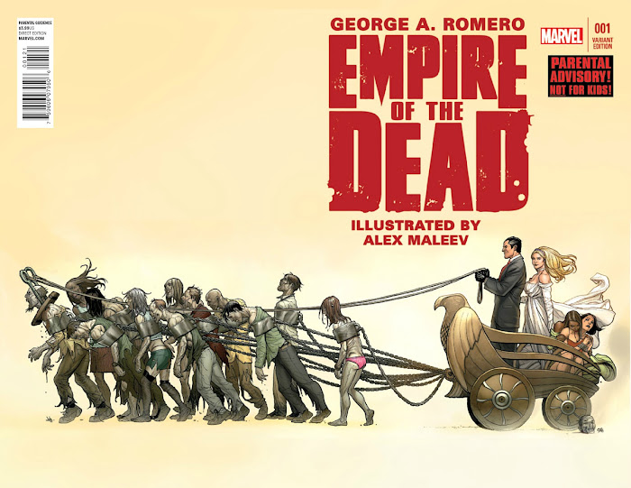 "AMC confirma ""Empire of the Dead"" do ZOMBIE MASTER George Romero"