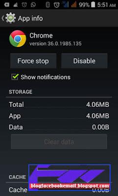 cara mudah menghapus jejak riwayat aplikasi browser android