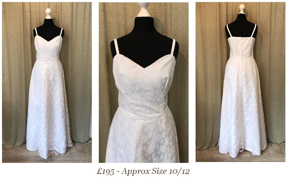 Destination Lace Vintage Wedding Dress