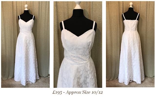 summer boho lace vintage wedding dress available from vintage lane bridal boutique bolton manchester