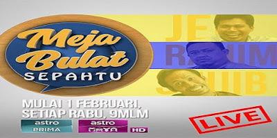 Tonton Online Program Meja Bulat Sepahtu Astro Maya HD