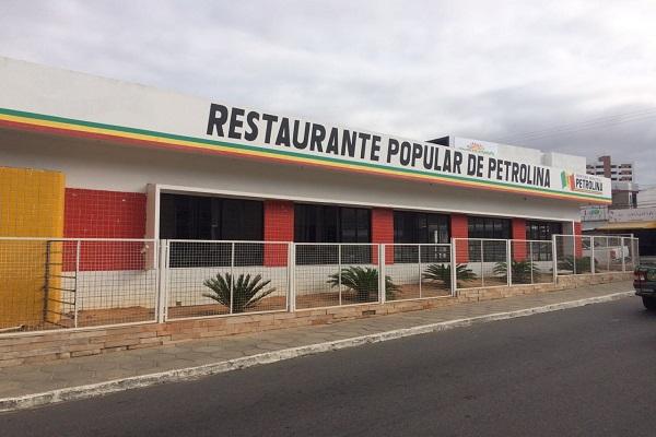 Resultado de imagem para restaurante popular de petrolina