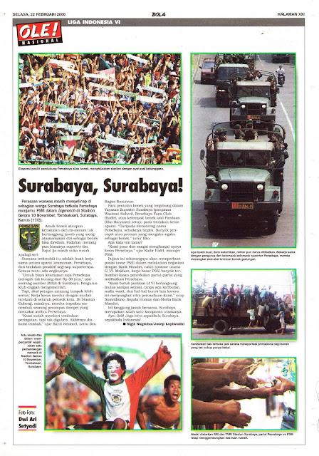 LIGA INDONESIA VI SURABAYA, SURABAYA