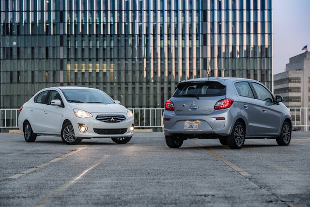 Mitsubishi Mirage G4 and Hatchback