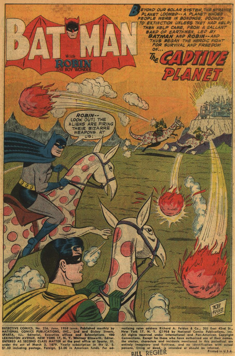 Detective Comics (1937) 256 Page 2