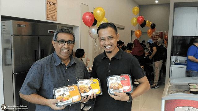 Rafiq Moosa, Ayamas Kitchen Ready-To-Eat Range Bloggers' Party,,