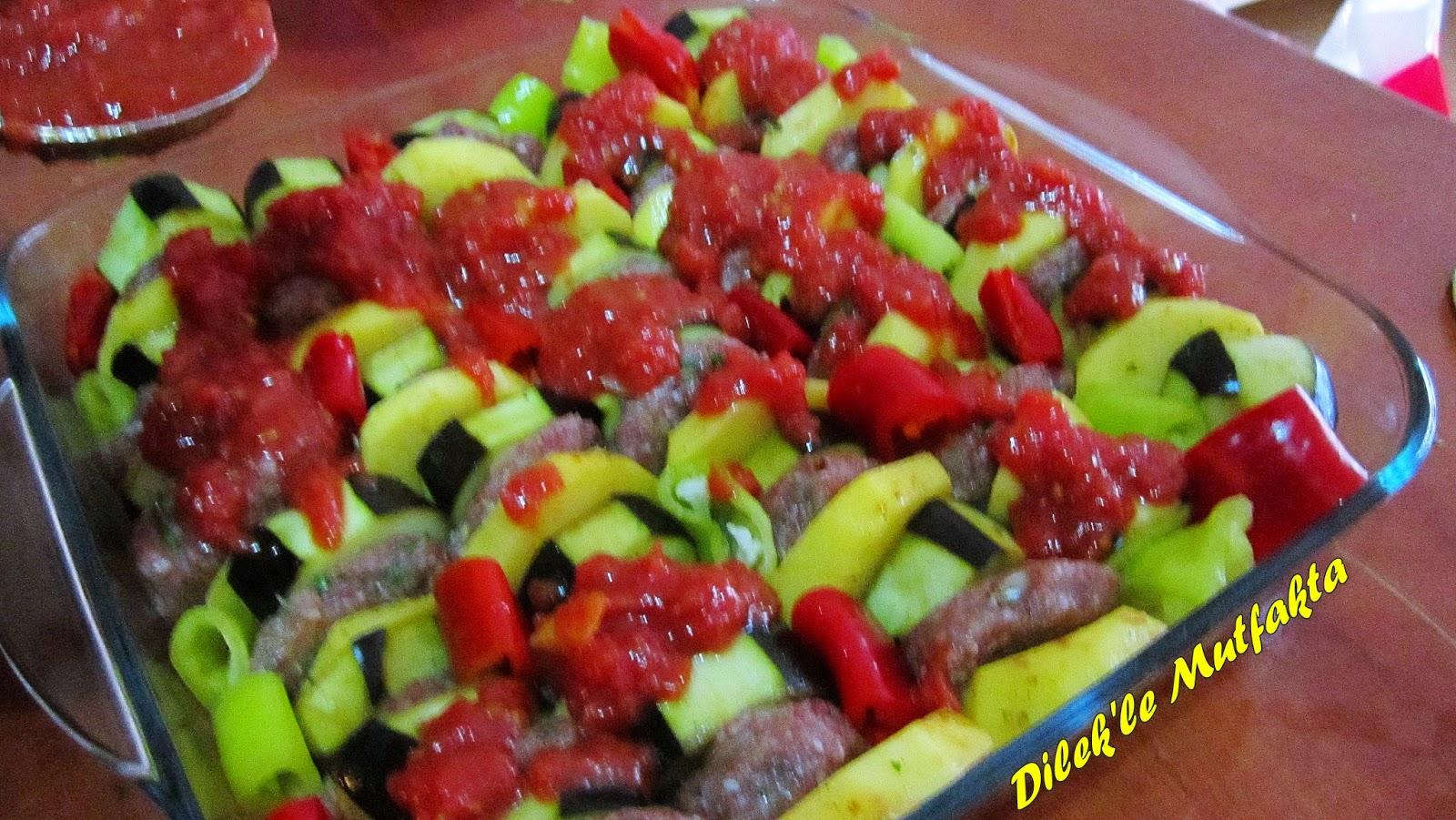 Köfteli Patlıcan Kebap Tarifi