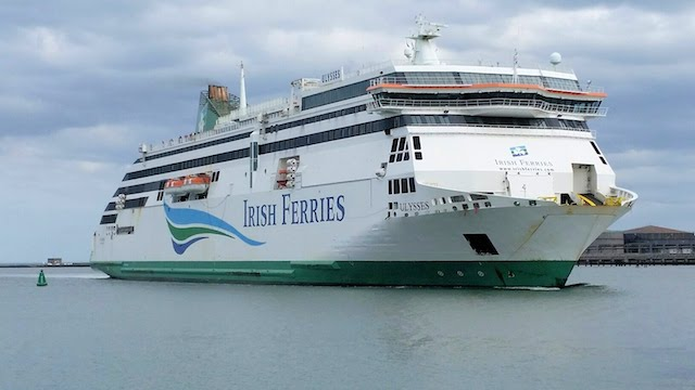 Irish Ferries até Dublin