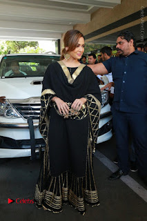 Bollywood Actress Sana Khan Launches Aakrithi Exibition  0213.JPG