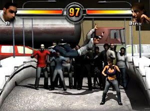 King of the Streets free action fighting PC game