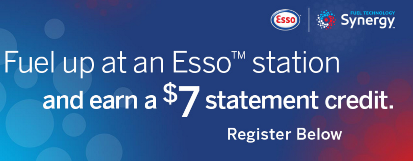 Canadian Rewards: Fuel up at Esso with AmEx and earn a $7 credit